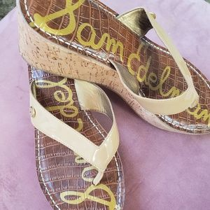 Sam Edelman small wedge flip flop